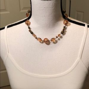 Jewelry - FREE with purchase/Brown Clear Beads